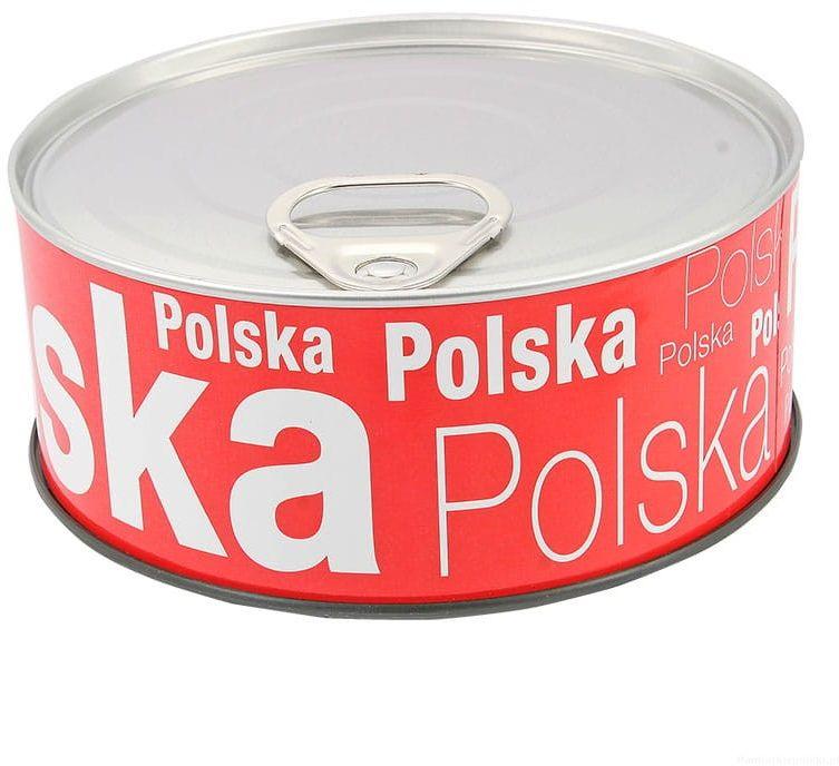 Zegar w puszce duży Polska