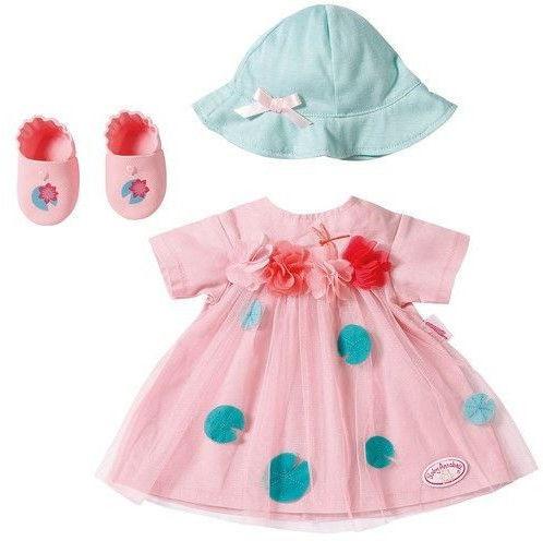 Baby Annabell - Zestaw ubranek Deluxe Letnia Sukienka 703052