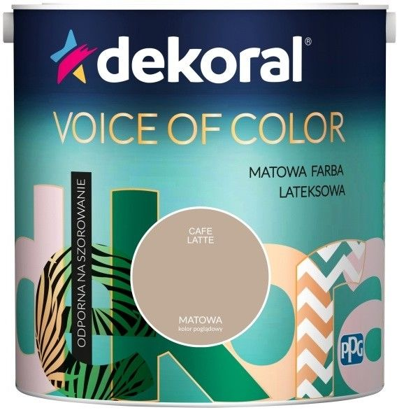 Farba Dekoral Voice of Color cafe latte 2,5 l