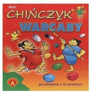 Maxi chińczyk. Warcaby ALEX - Alexander