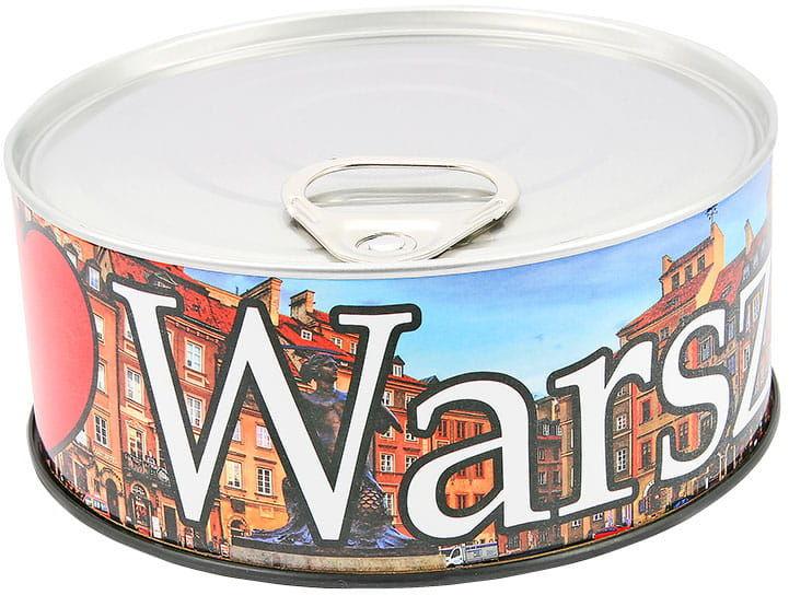 Zegar w puszce duży Warszawa