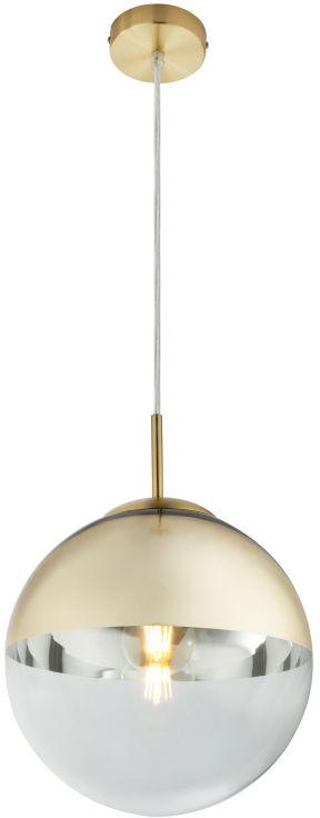 Globo VARUS 15856 lampa wisząca złota 1xE27 40W 25cm