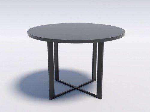 Nowoczesny stół okrągły RING 6 110 Wytrawny szary kamień