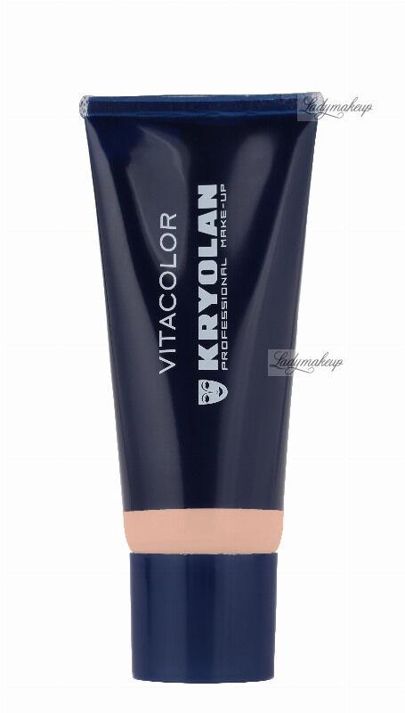 KRYOLAN - VITACOLOR - Cream Foundation With High Covering Powder - Mocno kryjący podkład - 40 ml - ART. 1021 - 4 W