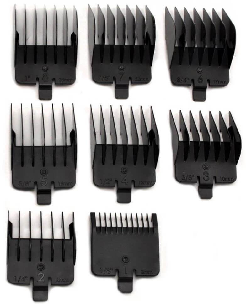 BaByliss PRO Nakładki dostępne w rozmiarach 3, 6, 10, 13, 16, 19, 22, 25mm do maszynki FX811E
