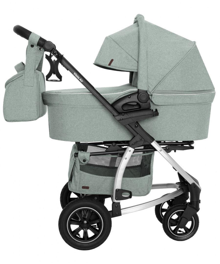 Wózek uniwersalny CARRELLO Vista 2w1 Olive Green