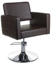Fotel fryzjerski Ernesto brązowy BM-6302