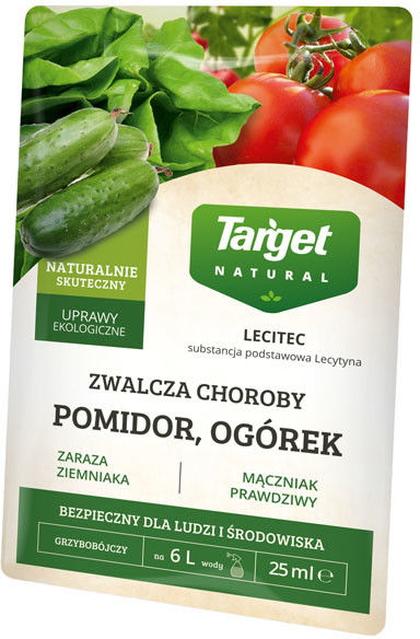 Preparat grzybobójczy Target Lecitec pomidor, ogórek 25 ml