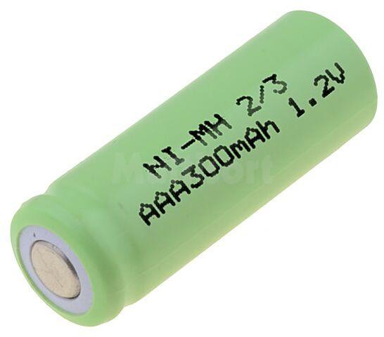 Akumulator Ni-MH 2/3AAA,2/3R3 1,2V 400mAh fi10,5x28,5mm