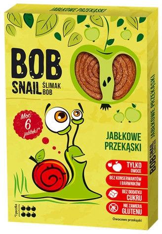 Bob Snail Przekąska jabłkowa bez dodatku cukru - 60 g