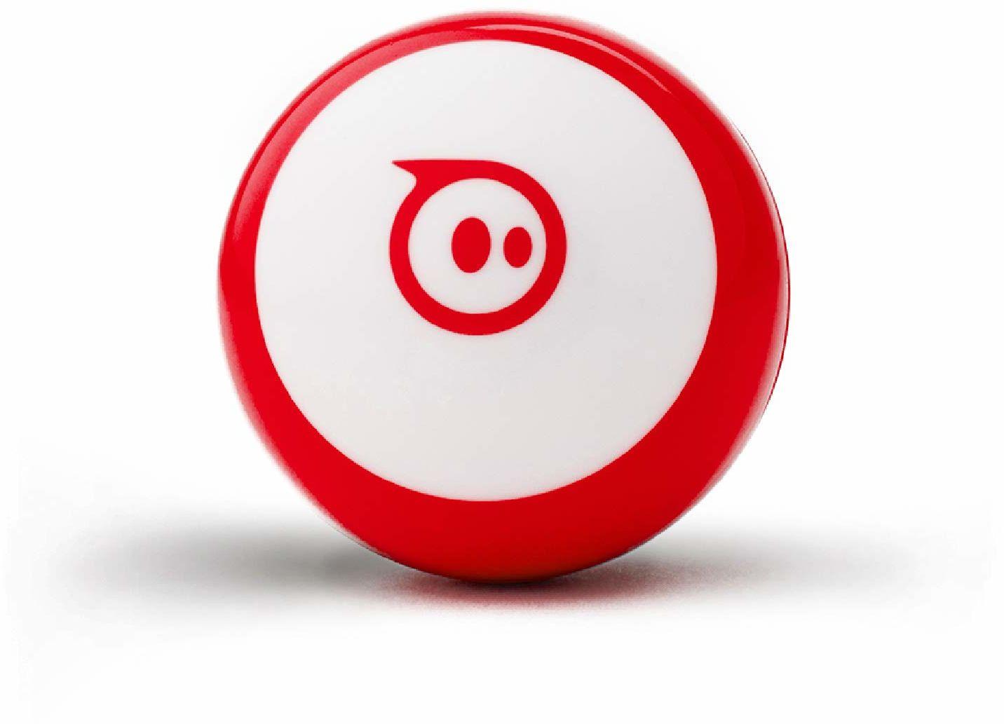 Sphero Mini Czerwony: Robot Ball sterowana aplikacją, STEM zabawka do nauki i kodowania, dla dzieci od 8 lat