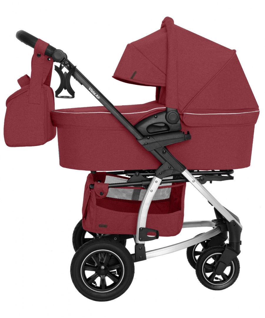 Wózek uniwersalny CARRELLO Vista 2w1 Ruby Red