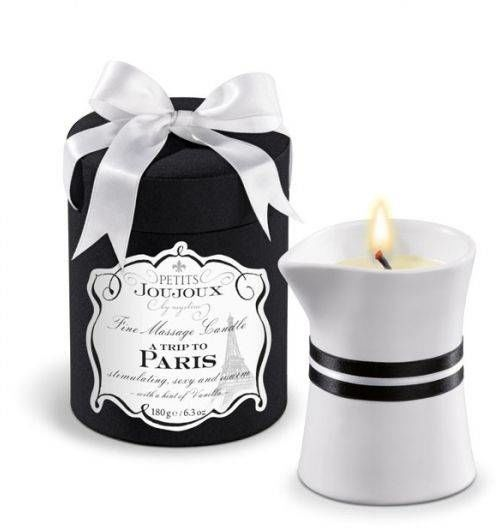 Świeca Petits Joujoux Fine Massage Candles - A trip to Paris (duża) 100% ORYGINAŁ DYSKRETNA PRZESYŁKA