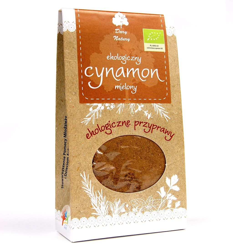 Cynamon cejloński mielony bio 50 g - dary natury