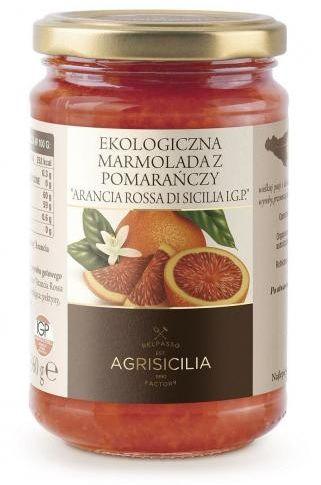 Marmolada z czerwonej pomarańczy BIO 360g Agrisicilia