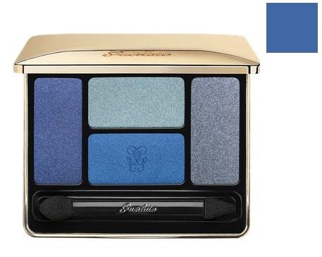 Guerlain Ecrin 4 Couleurs Poczwórne cienie do powiek 02 Les Bleus - 7,2g Do każdego zamówienia upominek gratis.