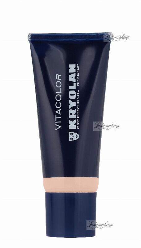 KRYOLAN - VITACOLOR - Cream Foundation With High Covering Powder - Mocno kryjący podkład - 40 ml - ART. 1021 - 3 W