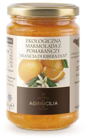 Marmolada z pomarańczy BIO 360g Agrisicilia