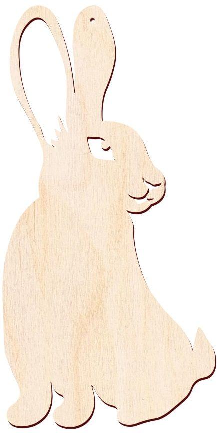 Zajączek Wielkanocny drewniany - 57 cm - 1 szt.