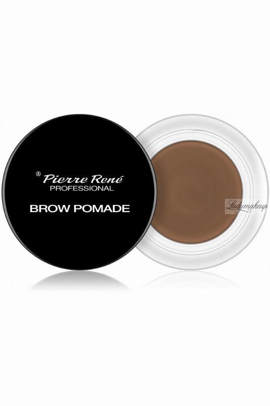 Pierre René - Brow Pomade - Pomada do brwi - 4 g - 01 - LIGHT BROWN