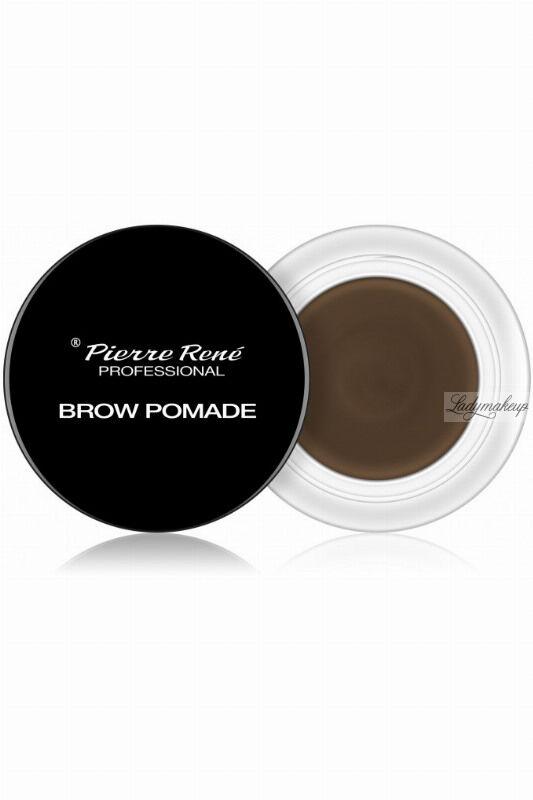 Pierre René - Brow Pomade - Pomada do brwi - 4 g - 02 - BROWN