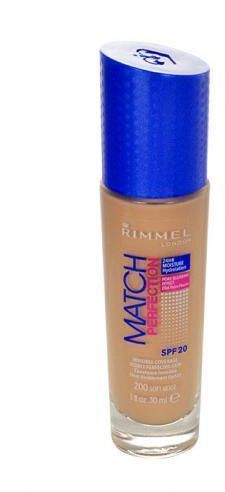 Rimmel London Match Perfection SPF20 podkład 30 ml dla kobiet 200 Soft Beige