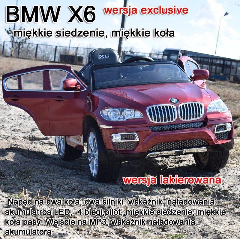 ORYGINALNE BMW X6 W NAJLEPSZEJ WERSJI, LAKIER/JJ258