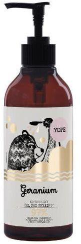 Yope naturalny żel pod prysznic geranium 400 ml