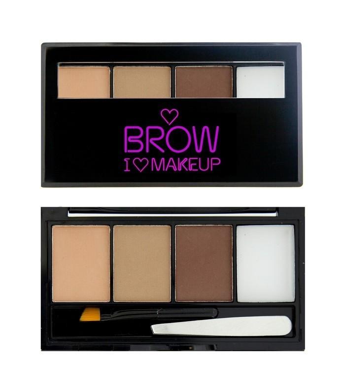 Makeup Revolution zestaw do brwi Fairest of them all