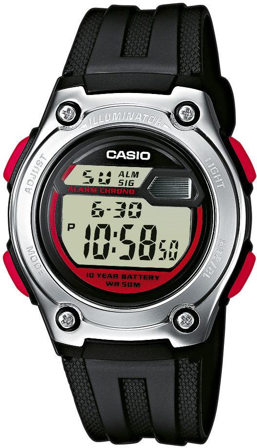 Zegarek Casio W-211-1BVEF W-211-1BVES - CENA DO NEGOCJACJI - DOSTAWA DHL GRATIS, KUPUJ BEZ RYZYKA - 100 dni na zwrot, możliwość wygrawerowania dowolnego tekstu.