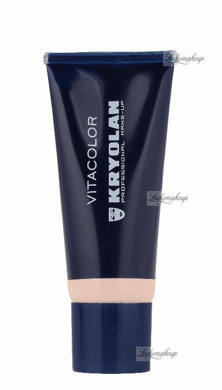 KRYOLAN - VITACOLOR - Cream Foundation With High Covering Powder - Mocno kryjący podkład - 40 ml - ART. 1021 - 2 W