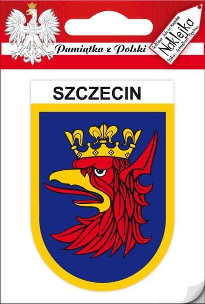 Naklejka pojedyncza - herb Szczecin
