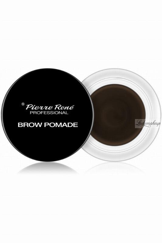 Pierre René - Brow Pomade - Pomada do brwi - 4 g - 03 - DARK BROWN