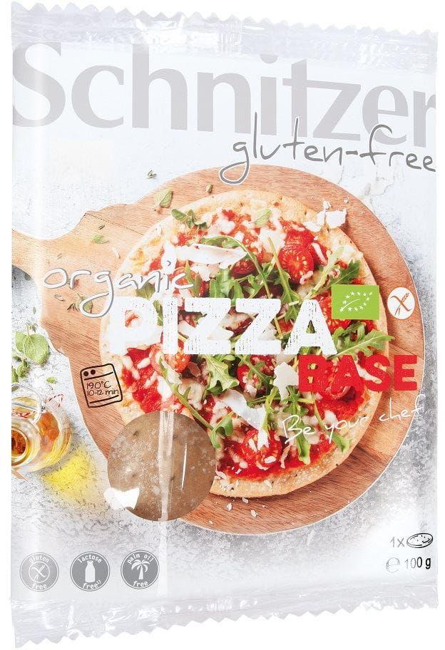 Kukurydziany spód do pizzy bezglutenowy bio 100 g ? schnitzer