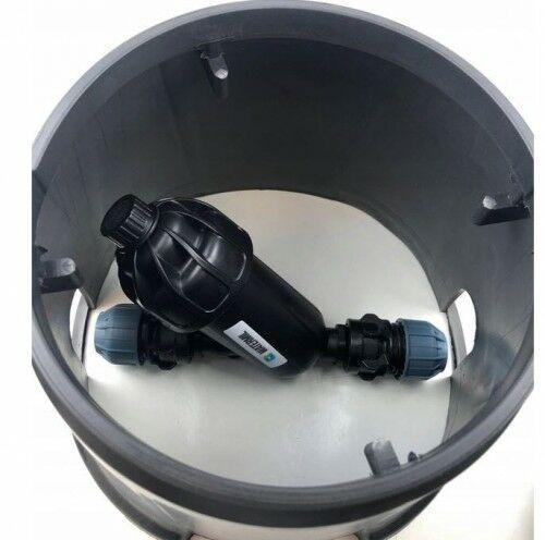 Studzienka zaworowa + filtr dyskowy