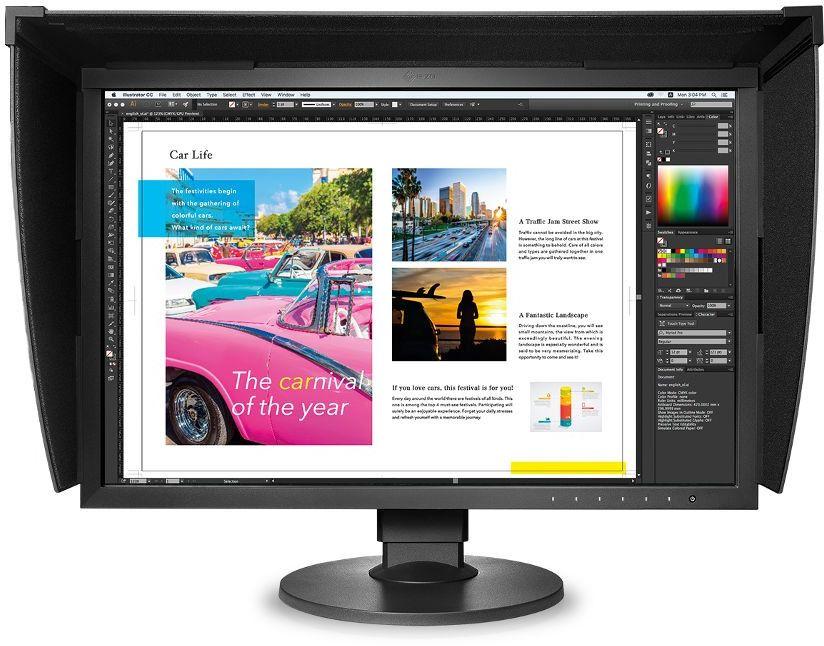 """Monitor 24"""" Eizo ColorEdge CG2420"""