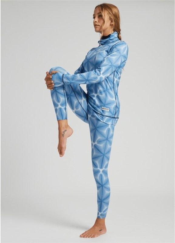 spodnie termoaktywne BURTON - Mdwt Pt Blue Dailola Shibori (403)