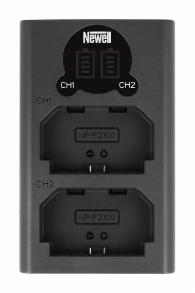Newell DL-USB-C - ładowarka podwójna USB do akumulatora NP-FZ100
