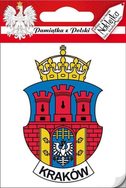 Naklejka pojedyncza - herb Kraków