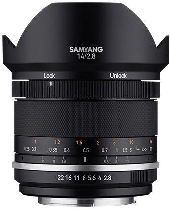 Samyang MF 14mm F2.8 MK2 - obiektyw stałoogniskowy, MFT Samyang MF 14mm F2.8 MK2