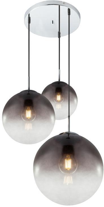 Globo VARUS 15861-3 lampa wisząca satyna nkiel 3xE27 51cm