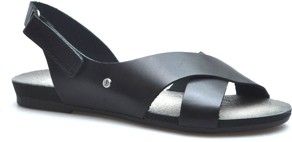 Sandały Lemar 40141 Czarne lico