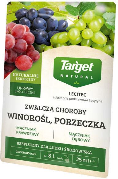 Preparat grzybobójczy Target Lecitec winorośl, porzeczka 25 ml