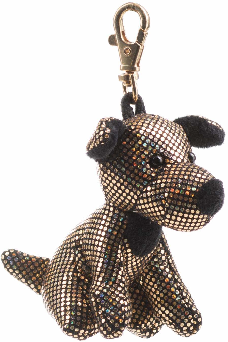 Schaffer Knuddel mich! 2705 Glitter & Glamour terrier pluszowy pies, złoty