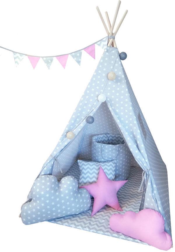 Namiot tipi dla dzieci z oświetleniem 4 wzory - Somit