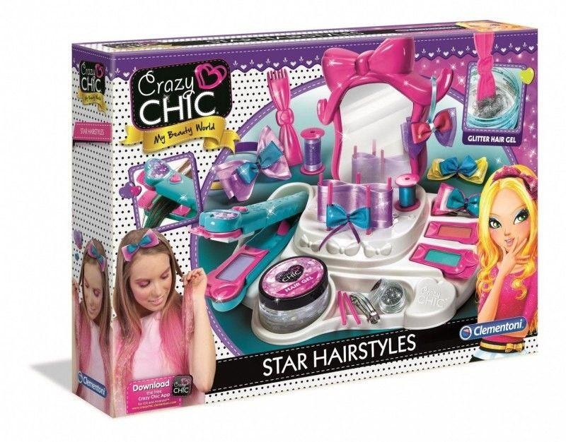 Clementoni Crazy Chic Salon Fyzjerski Prostownica Lustro 78420