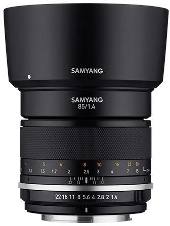 Samyang MF 85mm F1.4 MK2 - obiektyw stałoogniskowy do Sony E Samyang MF 85mm F1.4 MK2