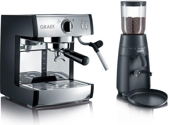 Ekspres ciśnieniowy Graef zestaw do kawy PIVALLA SET