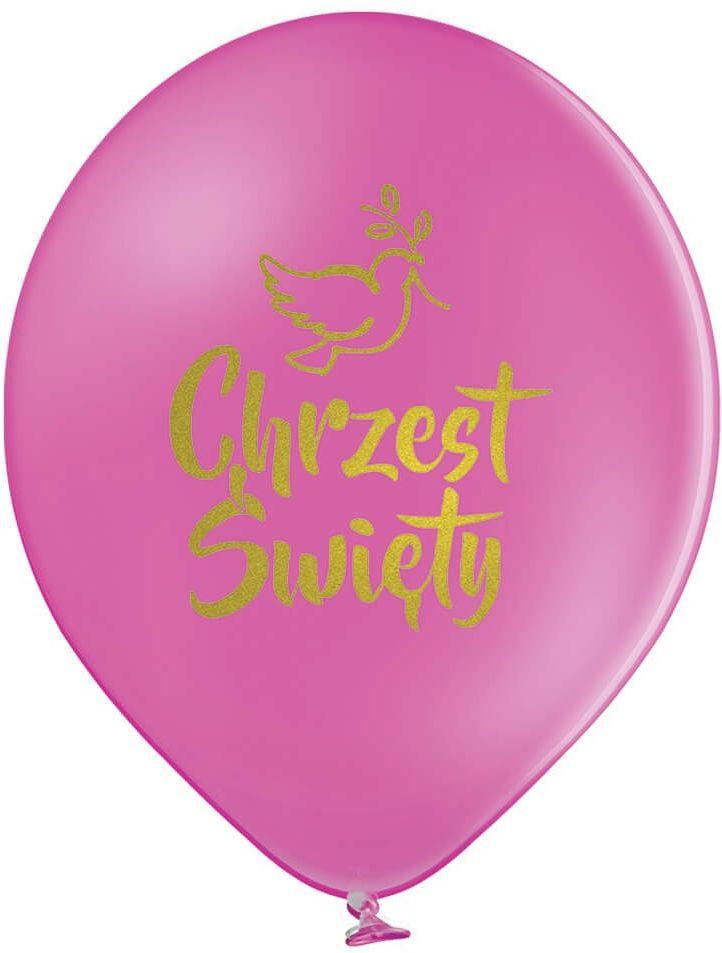 Balony na chrzest fuksjowe - 30 cm - 5 szt.