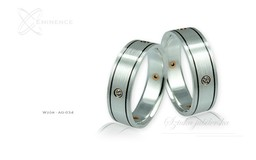 Obrączki srebrne - wzór Ag-034